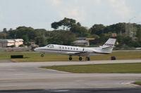 N366QS @ ORL - Net Jets C560
