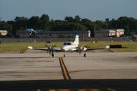 N707DT @ ORL - Cessna 421B