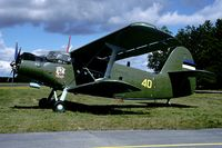 40 @ ESDF - A nice surprise during the 2000 Baltic Link exercise was this Estonian An-2. - by Joop de Groot