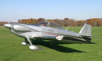N112KW @ IA27 - RV-4 on a nice fall day at Antique Airfield near Blakesburg, IA - by BTBFlyboy