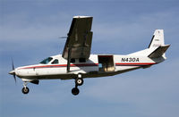 N430A @ S43 - This is the Skydive Caravan that went in last year in bad weather coming back from Eastern Washington