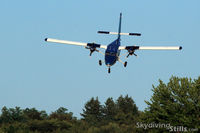 N123FX @ 5NY5 - Now that's a steep approach - by Dave G