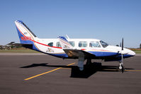 N8RU @ KLHQ - Panther modified Navajo