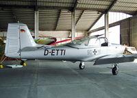 D-ETTI @ LHPR - Gy?r Pér Airport-Hungary LHPR - Legendary Aircraft Ltd. hangar - by Attila Groszvald / Groszi