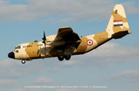 1298 @ BWI - Egyptian A.F. C-130H SU-BAU/1288 landing at BWI - by J.G. Handelman