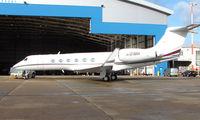 N101MH @ EGGW - Gulfstream V at Luton - by Terry Fletcher