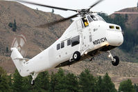 N901CH @ S52 - Landing Methow Valley - by Franz Loew