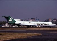 XA-MEZ @ MMMX - I apologize the Mexican 727 shots are poor quality scans