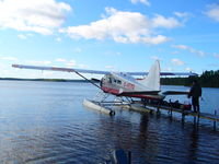 C-FEYQ - Fly-in fishing trips in northern Ont Canada - by Stuart Grundy