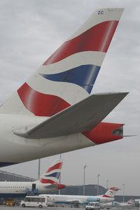 G-ZZZC @ VIE - British Airways Boeing 777-200
