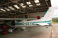 G-CEYI @ EGLA - Taken at Bodmin Airfield, June 2008. - by Steve Staunton