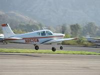 N8525M @ SZP - 1963 Beech 35 B33 DEBONAIR, Continental IO-470-J 225 Hp, takeoff climb Rwy 22 - by Doug Robertson