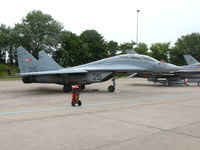 26 @ EHLW - Mikoyan Gurevich Mig-29UB Fulcrum 26 Hungarian Air Force - by Alex Smit