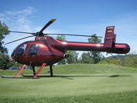 C-FTEA - MD-520n on golf course - by Andre Sicotte