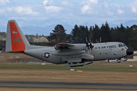 83-0491 @ NZCH - USAF, 1985 Lockheed  LC-130H-LM Hercules, c/n 382-5010, on the way to the Ice - by Bill Mallinson