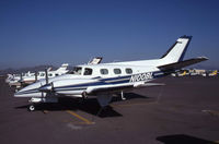 N100BL @ KFFZ - Clearly a Duke and not the Lear