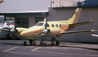 C-GTTF @ KVNY - As it was in 1981 as N5BE on jacks at KVNY
