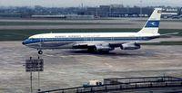 9K-ACM @ EGLL - Kuwait Boeing 707-369C - by Peter Ashton