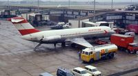 OE-LDD @ EGLL - Austrian Douglas DC-9-32. Note the previous use of this registration. - by Peter Ashton