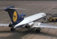 D-ABLI @ EGLL - Lufthansa Boeing 727-230 - by Peter Ashton