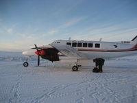 C-FKBK @ YHI - Aklak Air Beech 99 - by John Reid
