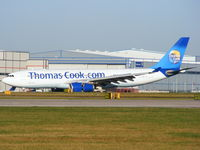 G-OJMC @ EGCC - Thomas Cook - by chris hall
