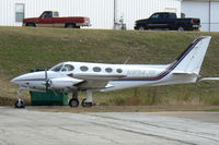 N894JG @ FTW - At Meacham Field - Cessna 340