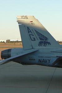166606 @ AFW - At Alliance - Fort Worth - F/A-18A VFA-143 - by Zane Adams