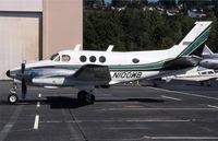 N100WB @ KBFI - its a parked king air
