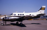 66-15361 @ KPAE - / its a king air - by Nick Dean