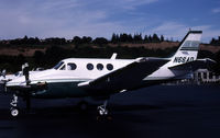 N66AD @ KBFI - this king air is parked