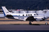 N70SM @ KBFI - This king air is taxying