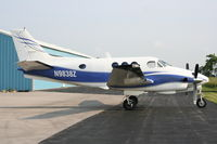 N9838Z @ C89 - This is a parked King Air