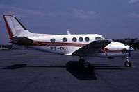 PT-OIU @ SBBH - This is a king air parked in South America