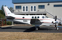 N3GC @ KPAE - This is a King Air sitting outside my office window