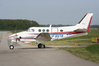 F-BVTB @ LSGG - This King Air is taxying in Switzerland