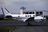 N96AH @ LFPB - This is a King Air taxying
