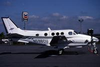 N596CU @ KPAE - A parked King air