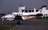 D-IHDE @ LFPB - another King air taxying - by Nick Dean