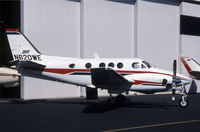 N620WE @ KBFI - This is a King Air in front of a hangar - by Nick Dean