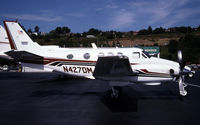 N427DM @ KBFI - This is a King Air
