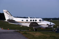 HB-GJH @ LSGG - this a king Air Taxying