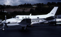 N617KM @ KBFI - Its a King Air