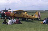 OO-ACE @ EGBK - PFA Rally 1974 Cessna 120 - by Peter Ashton