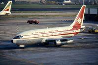 7T-VED @ EGLL - Air Algerie Boeing 737-2D6C - by Peter Ashton