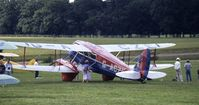 G-ACZE - Moth Rally 1991, Woburn Abbey, Bedfordshire, England - by Peter Ashton