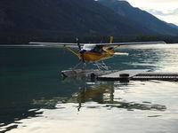 C-GUGE - Muncho Lake, BC - by Brad Benson N8419R