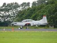 263 @ EHLW - Pilatus PC-9M 263 Irish Air Force - by Alex Smit
