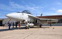 166661 @ KSKF - VFA-32 Swordsmen's Super Hornet at Lackland Airshow 2008 - by TorchBCT