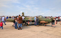69-6442 @ KSKF - Dragonfly hiding amongst the crowd at Lackland Airshow 2008 - by TorchBCT
